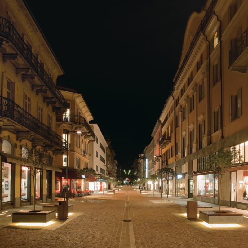 Viale Stazione - Bellinzona